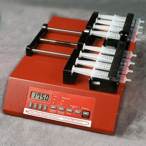 Eight Channel Syringe Pump with European Power Supply