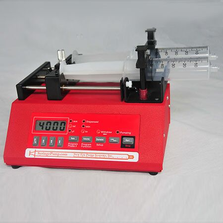 Two Channel Syringe Pump, European Power Supply
