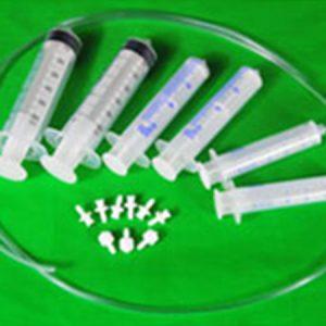 Syringe Kit Large syringes with tubing and parts