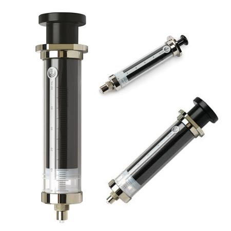 SGE Glass 100mL Removable Luer Lock Tip Syringe