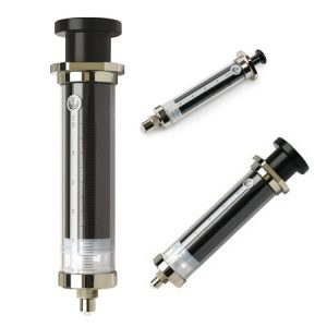 SGE Glass 2.5mLFixed Luer Lock Tip Syringe