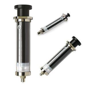 SGE Glass 250uL Fixed Luer Lock Tip Syringe